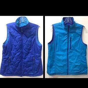 L.L.Bean Reversible Lightweight Vest Size MReg